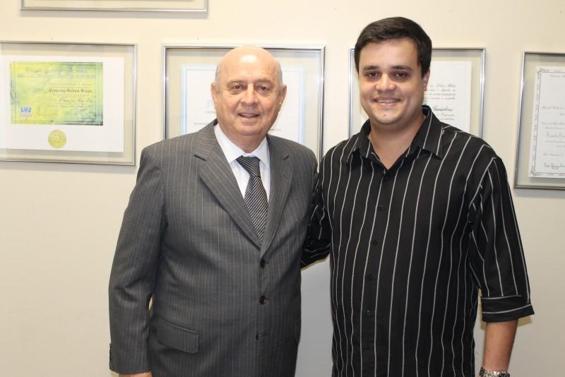Lideranças de Faria Lemos visitam deputado Braulio Braz