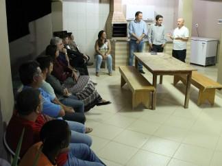 Braulio Braz visita prefeito de Miradouro