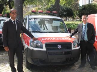 Pouso Alto recebe ambulância