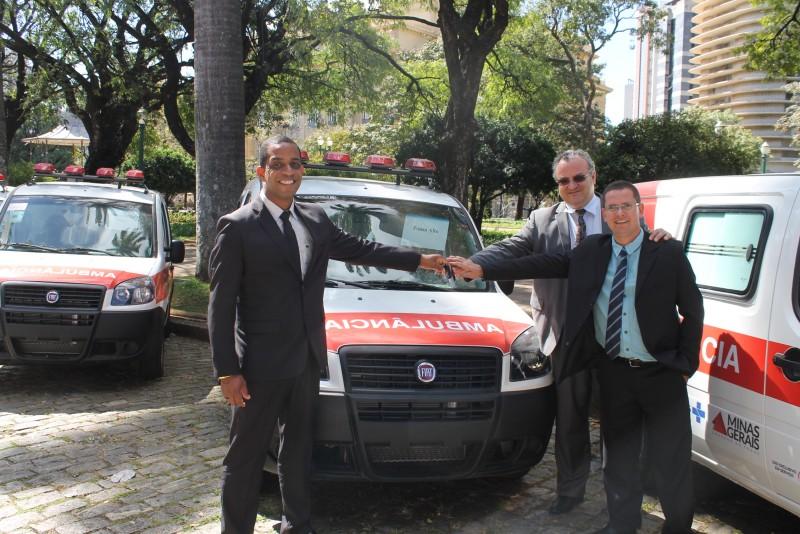 Li Veterinário, Adair Vidal e Juliano Enfermeiro