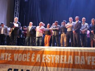 Braulio Braz participa de festividade em Fervedouro