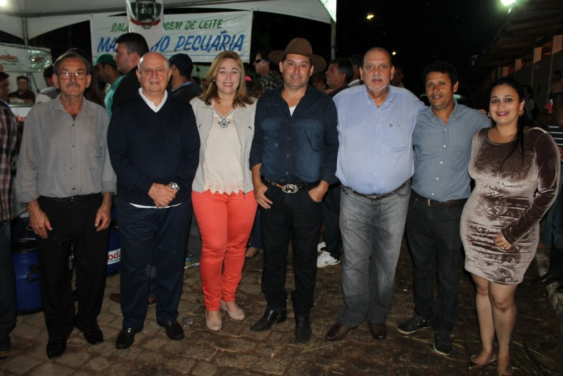 Braulio Braz no aniversário de Tombos