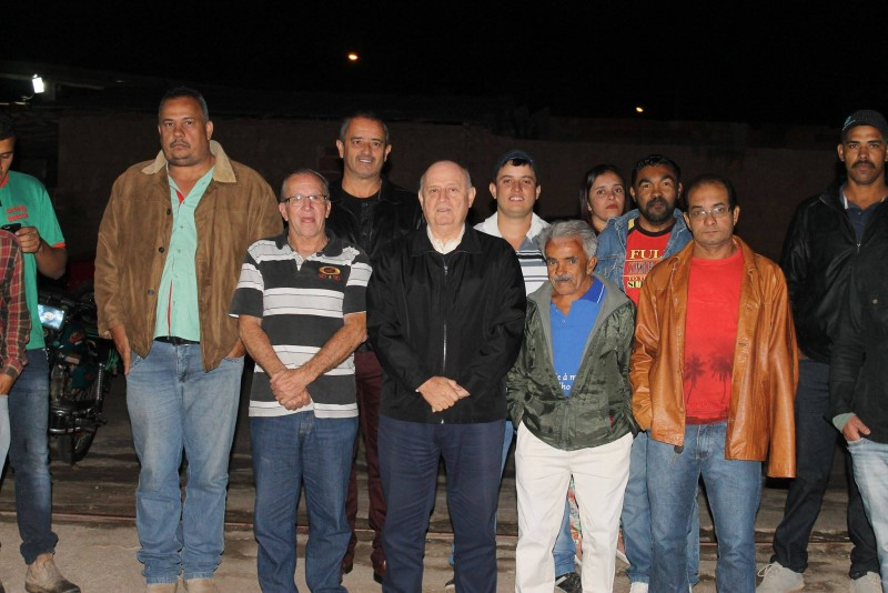 Deputado Braulio Braz participa de reunião política em Santana do Manhuaçu