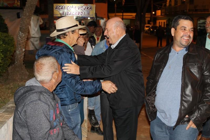 Deputado Braulio Braz participa de festividades em Vieiras